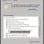 folder - unhide folder