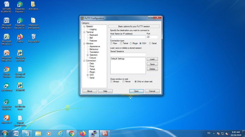 aplikasi remote access pada linux